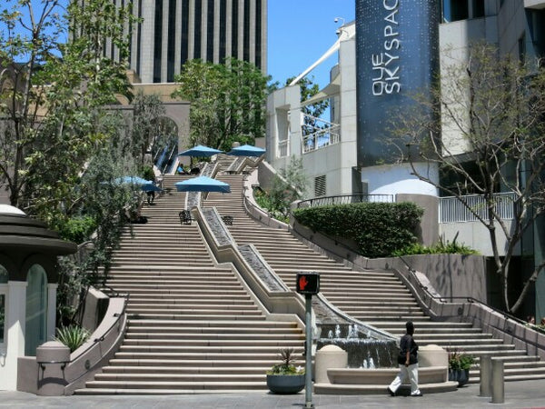 Bunker Hill Steps, Skatespots Downtown Los Angeles @ShopREdCar7