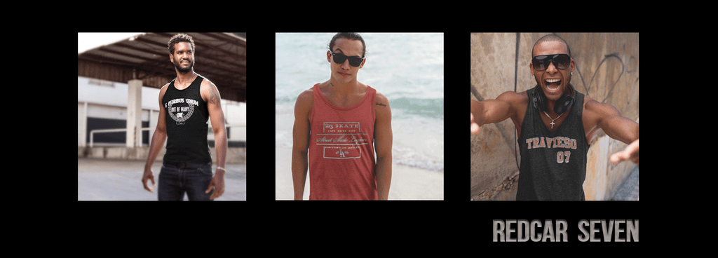 RedCar7 Summer 2017 Mens Tanktops Collection