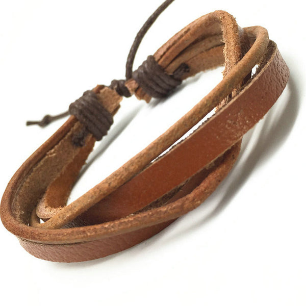 R7C Topanga Beach Leather Bracelet - Accessories - REDCAR SEVEN Co.