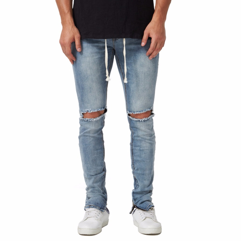 SKINNIEST FIT DRAWSTRING JEANS - www.ShopRedCar7.com