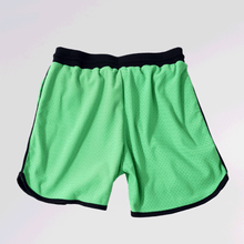 Load image into Gallery viewer, DRI-FIT MESH BASKETBALL SHORTS - NEON GREEN