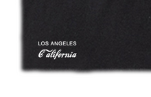 """LOS ANGELES DREAMIN'"" BOX CREW TEE - BLACK - www.ShopRedCar7.com"