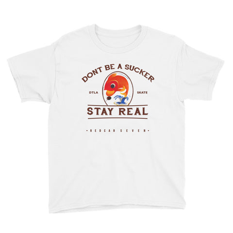 Stay Real Youth Tee - RedCar KiDS - www.ShopRedCar7.com
