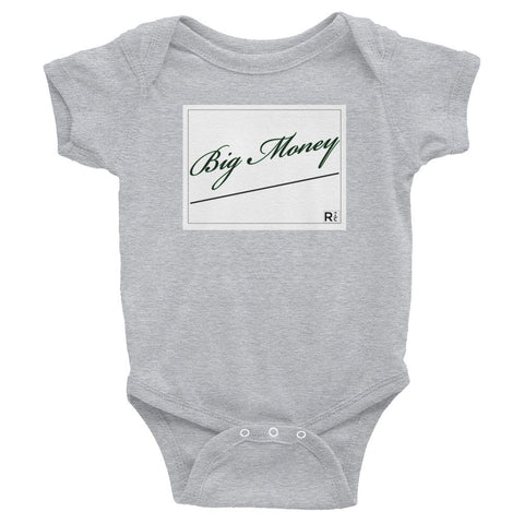Big Money Infant Bodysuit - RedCar KiDS - www.ShopRedCar7.com