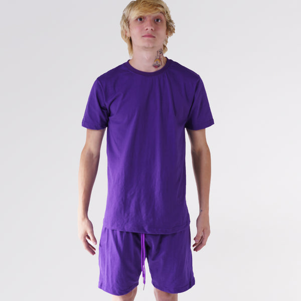 """NEW FIT"" ESSENTIAL TEE - LAKERS PURPLE"