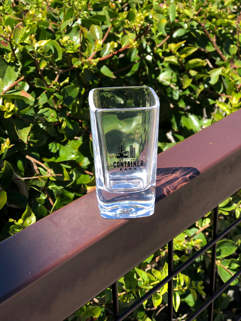Container Park Shot Glass