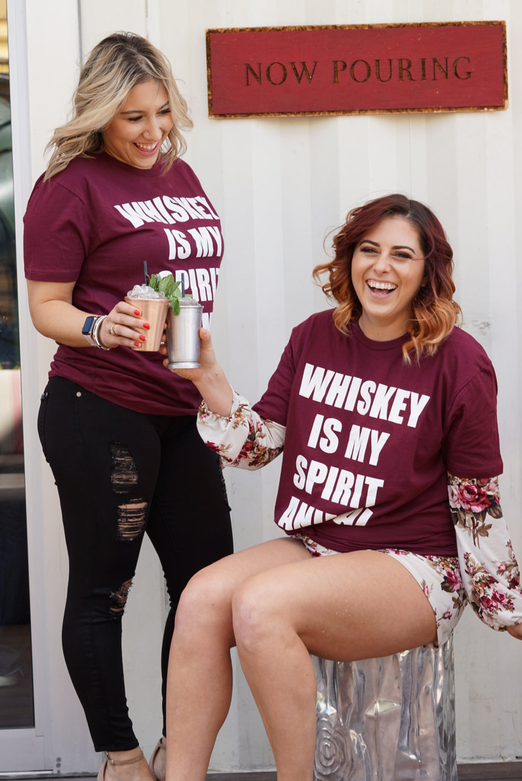 Oak & Ivy Whiskey is My Spirit Animal