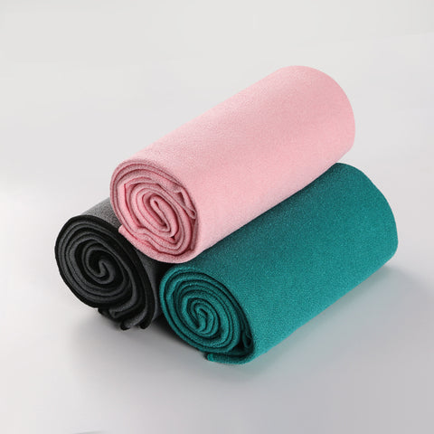 Corner Wrapping Non-Skid Yoga Mat Towel