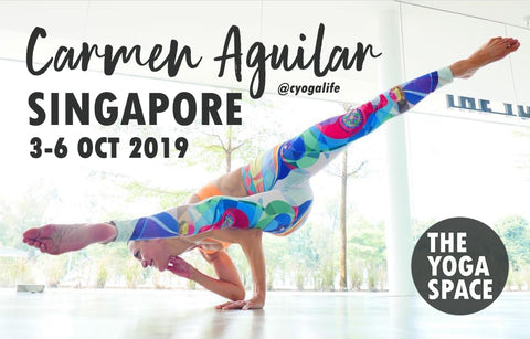 Carmen Aguilar Weekend Workshops 3-6 Oct 2019