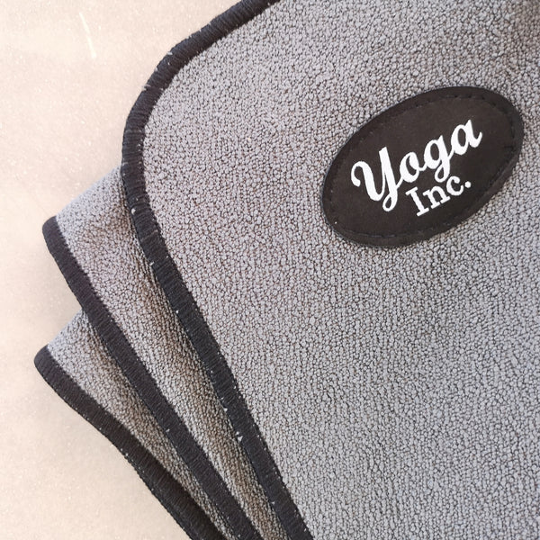 Corner Wrapping Non-Skid Yoga Mat Towel- Solid Color