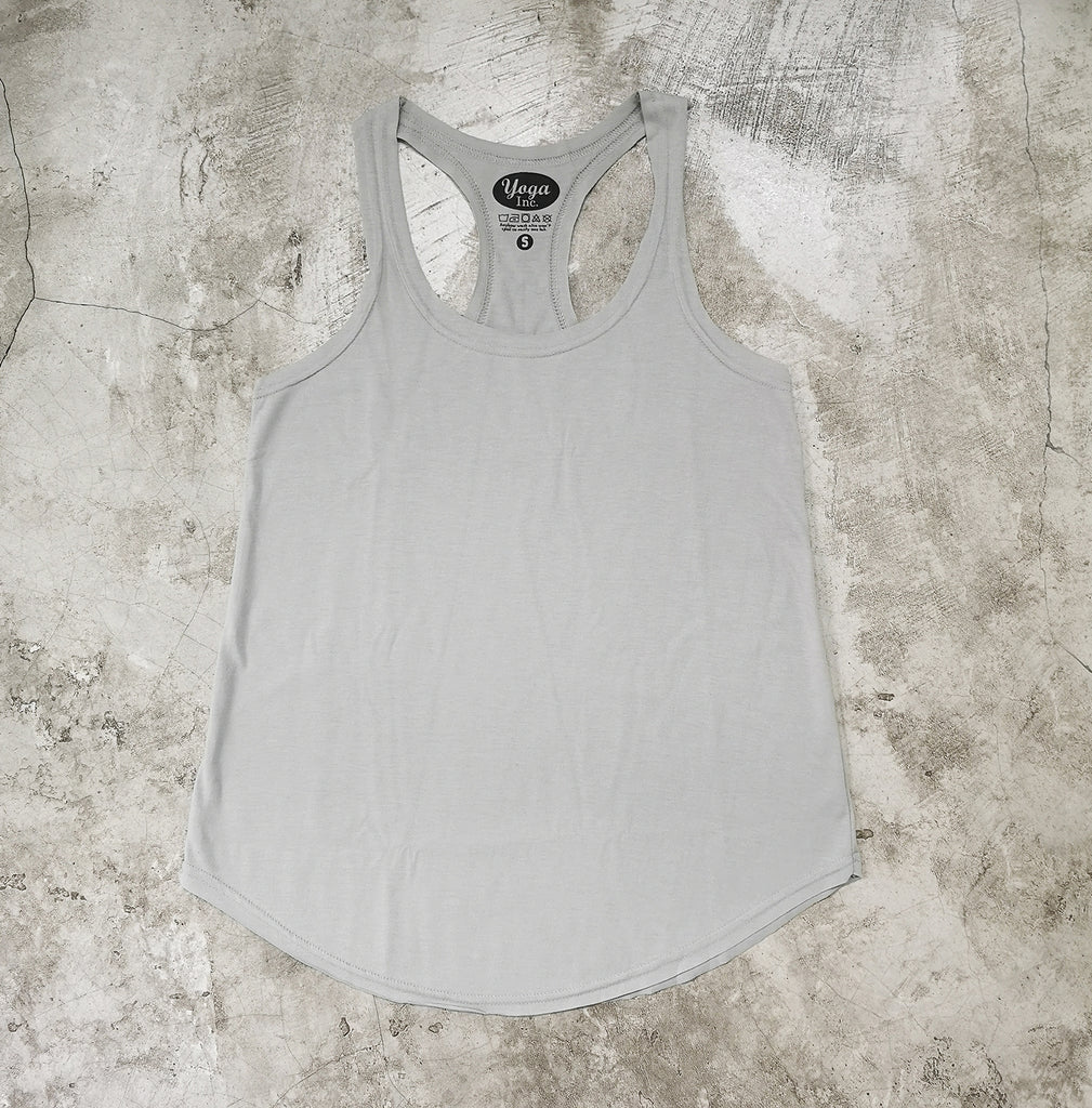 Ladies Tank Top- Light Grey
