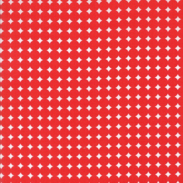 Starry Dot in Red