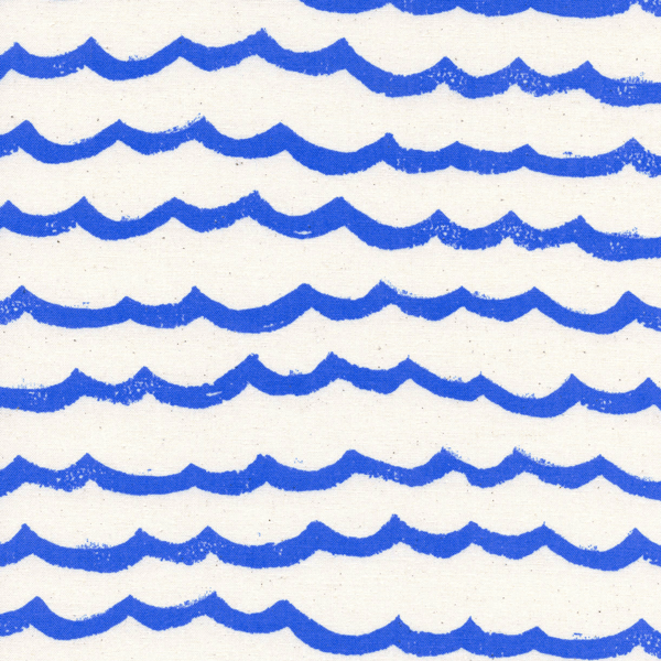 Waves in Blue