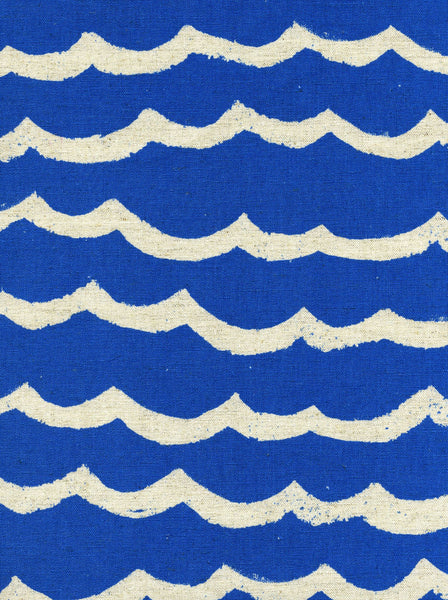 Kujira Waves in Blue Sea (CANVAS)