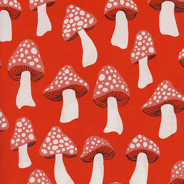 Mushrooms in Red