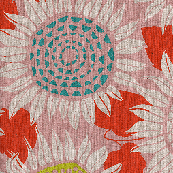 Sunflowers in Pink (CANVAS)