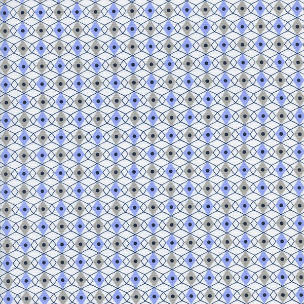 Facets in Periwinkle