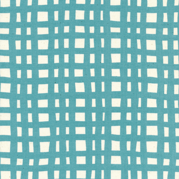 Going Steady Grid in Teal