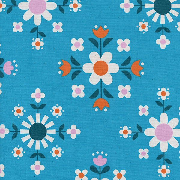 Florametry in Bright Blue