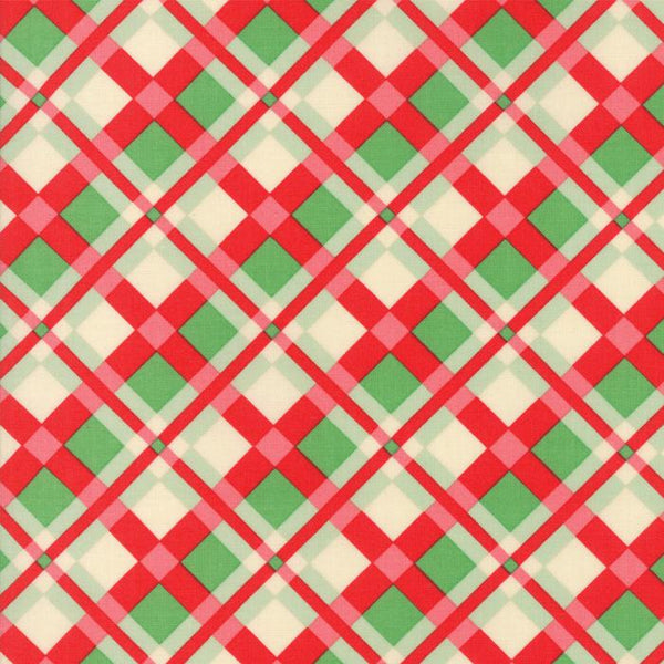 Plaid in Red/Green