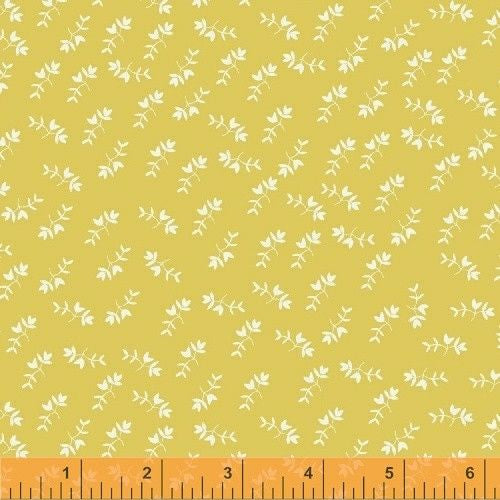 Mono Floral in Yellow