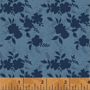 Shadow Flower in Navy
