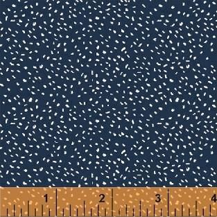 Scattered Dot in Navy