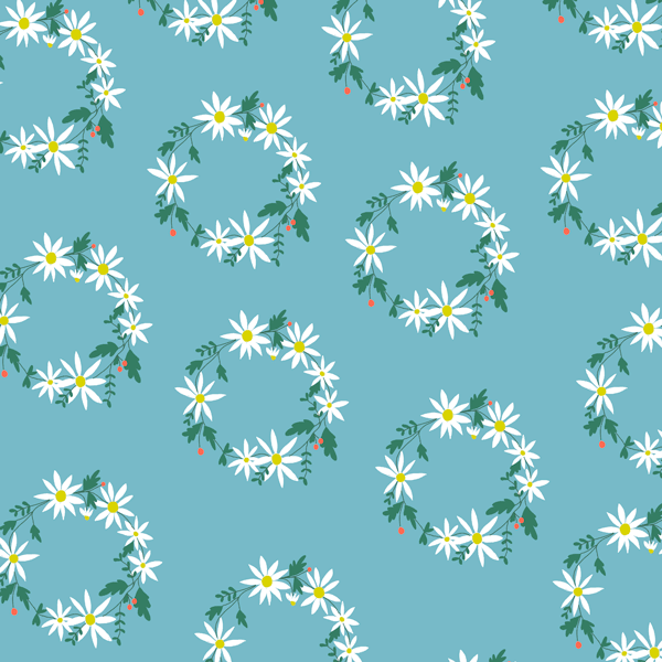 Daisy Chain in Blue