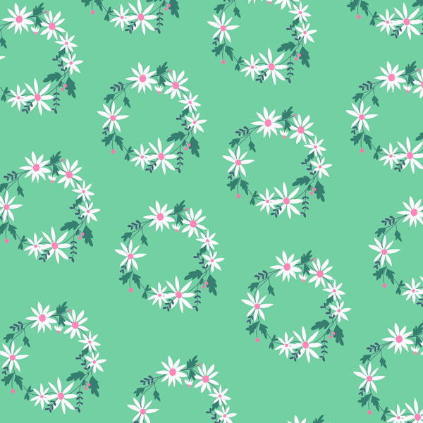 Daisy Chain in Mint