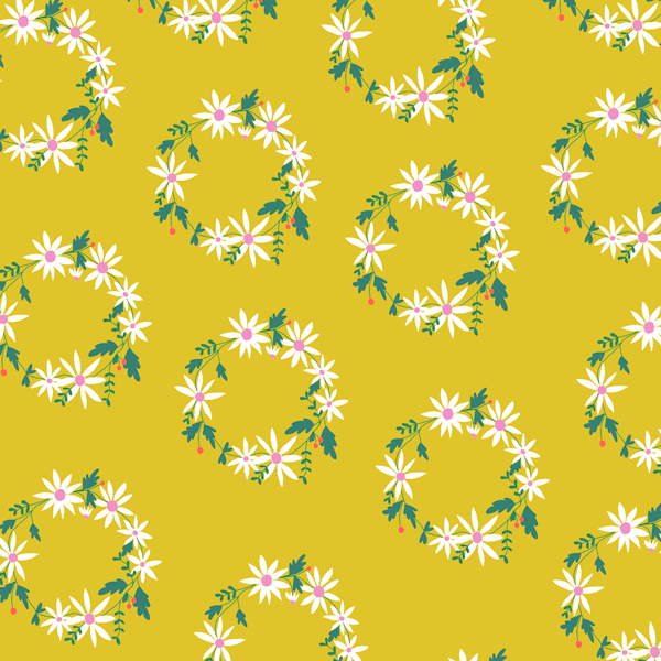 Daisy Chain in Chartreuse