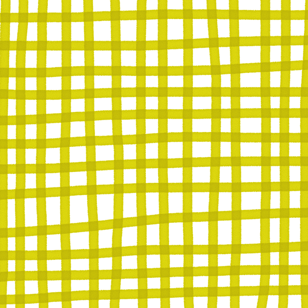 Plaid in Chartreuse