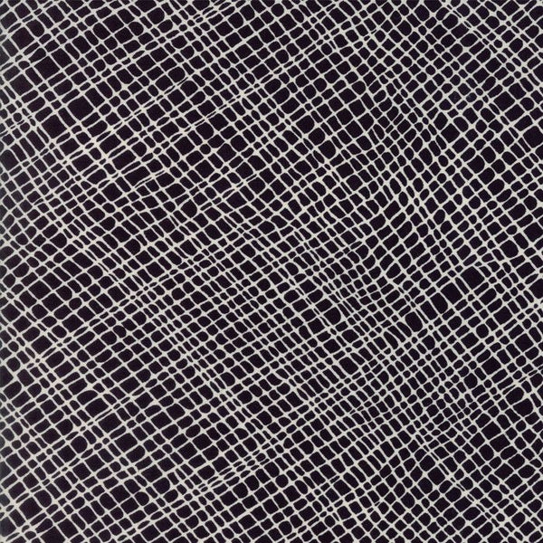 Crosshatch in Black/Natural