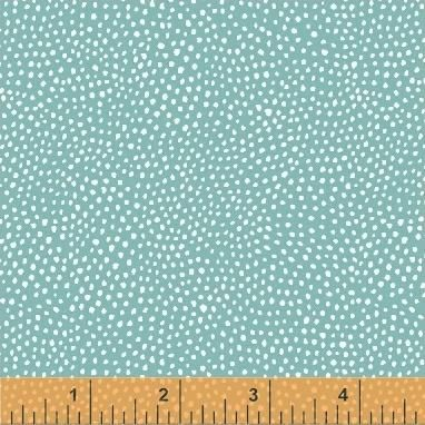 Dots in Teal