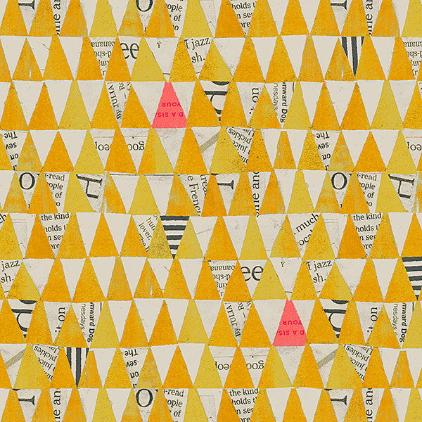 Stacked Triangles in Mustard