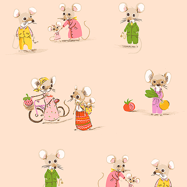 Country Mouse, City Mouse in Blush (PRE-ORDER)