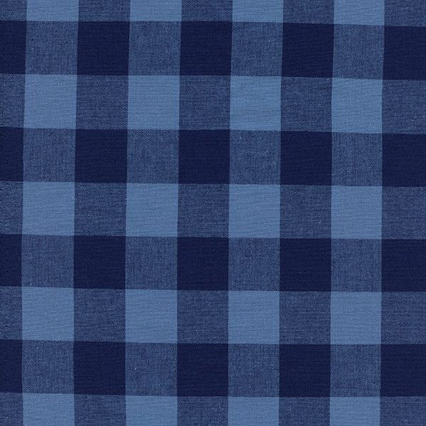 "1"" Gingham in Navy"