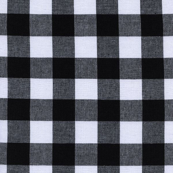 "1"" Gingham in Black"