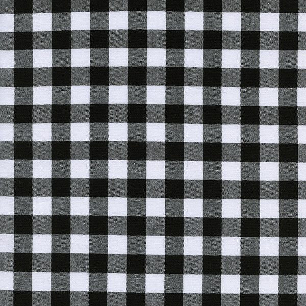 "1/2"" Gingham in Black"