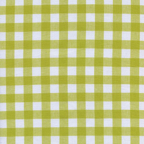 "1/2"" Gingham in Citron"