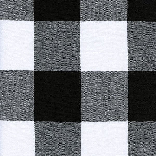 "2.5"" Gingham in Black"