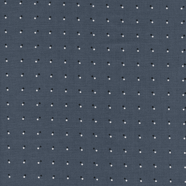 Double Dots in Dark Grey