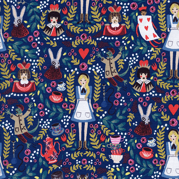 Wonderland in Navy
