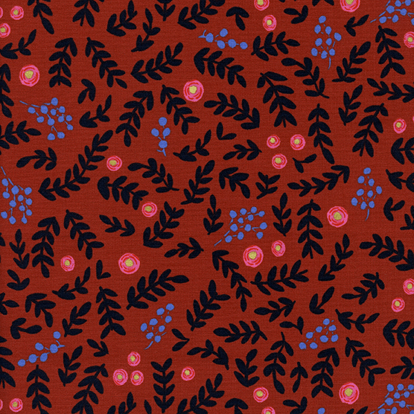 Rose Garden in Crimson (METALLIC)