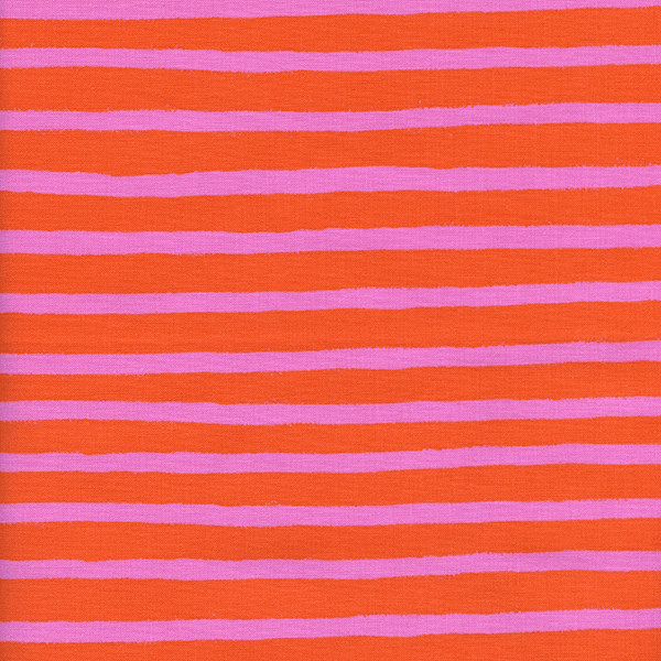 Cheshire Stripe in Orange