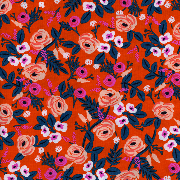 Paint Roses in Orange (RAYON)