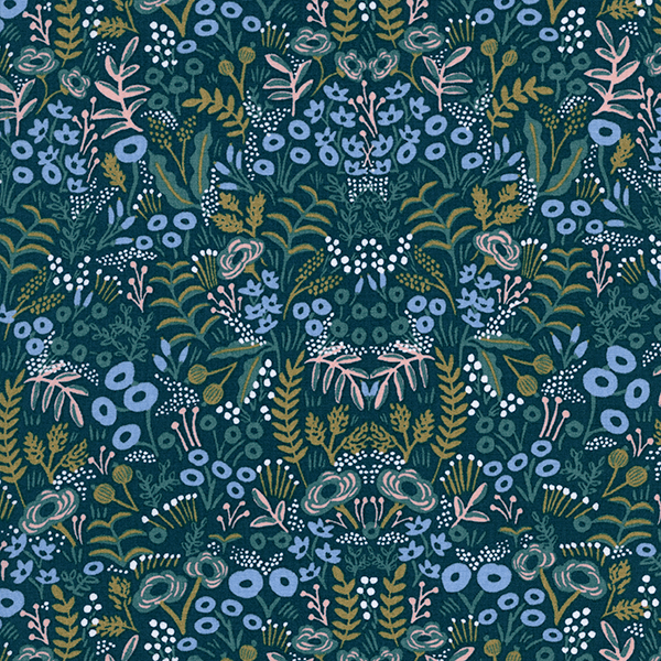 Tapestry in Navy (RAYON)
