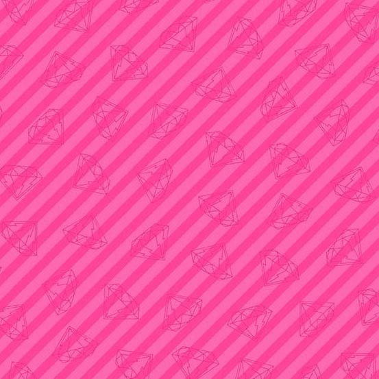 Gem Stripe in Pink