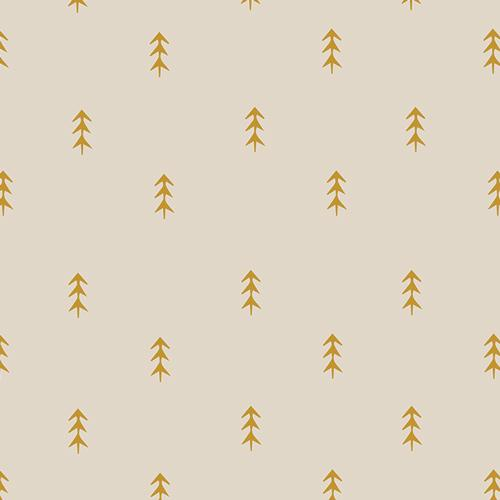 Simple Defoliage in Gold