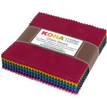 Kona Charm Squares in Dark