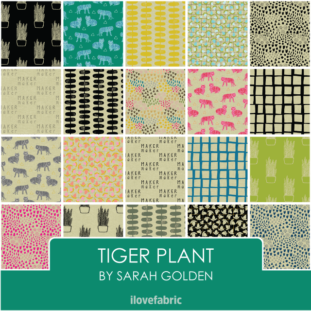 Tiger Plant Bundle (LINEN)